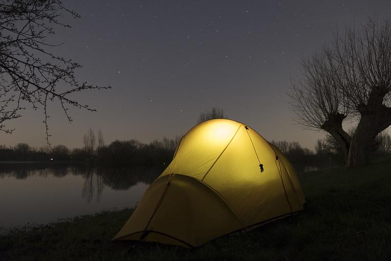 kamperen hoeft niet duur te zijn