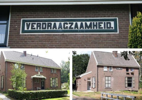 Wandeling in de voetsporen van het Pauperparadijs Veenhuizen woningen