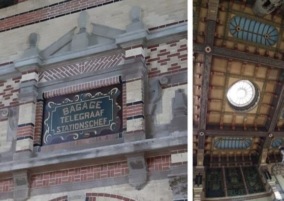 Station Groningen gewelven