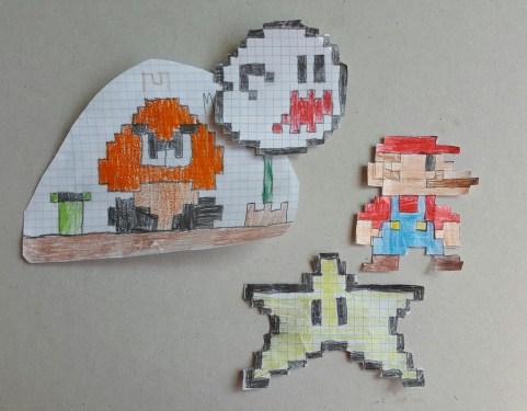 Mario marionetas diy