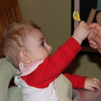 Baby food making and solid weaning, month 2