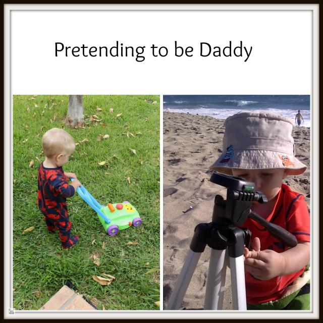 Baby-playing-daddy