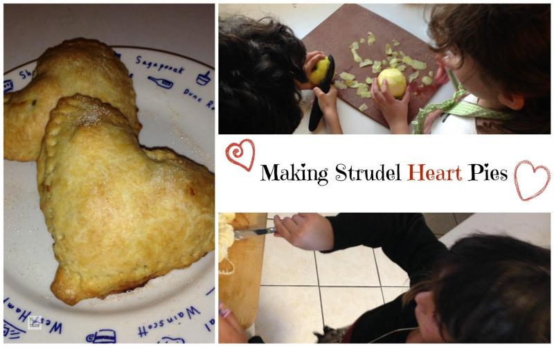 MakingStrudelHeartPies