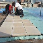 عزل الأسطح من الحرارة والرطوبة