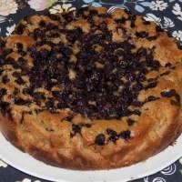 Wegańskie ciasto z owocami