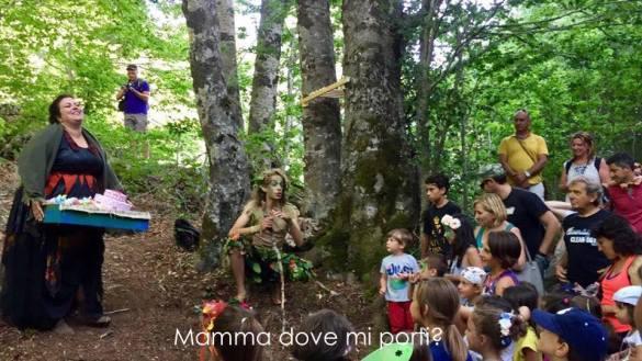 Teatro itinerante nel bosco - Festa degli Gnomi