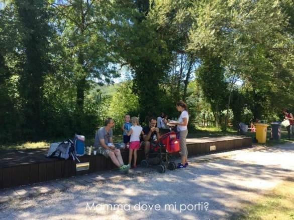 Area attrezzata picnic Lago Piediluco