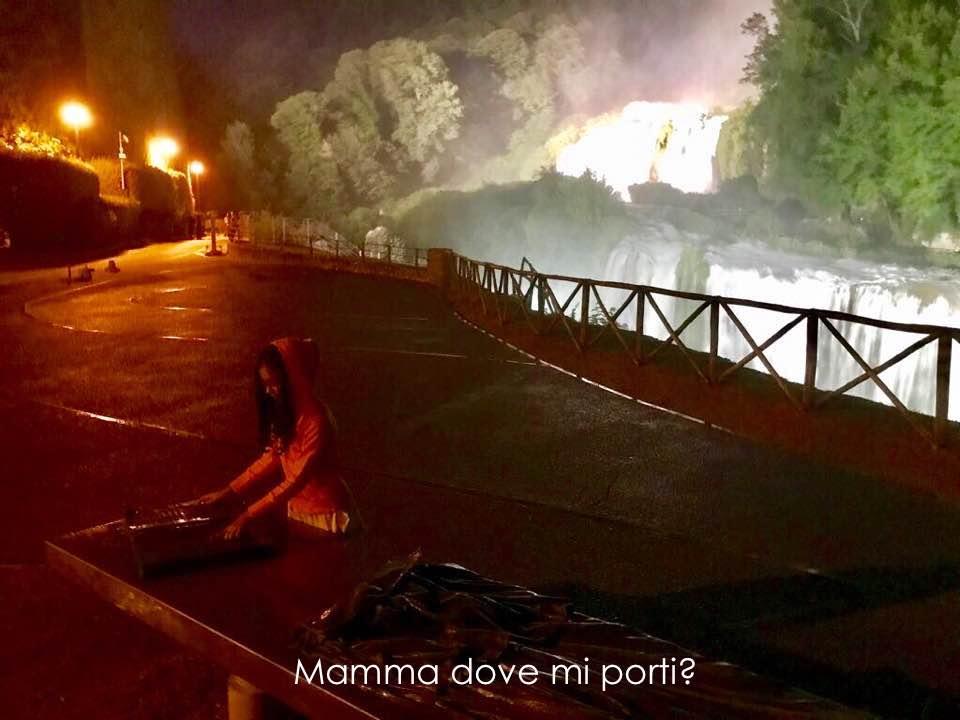 Cascata delle Marmore in Notturna Terni Umbria