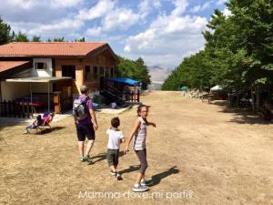 Rifugio Colle del Belisario Roccaraso - Montagna con bambini Abruzzo