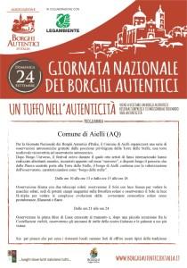 Giornata dei Borghi Autentici - Aielli - L'Aquila - Eventi per famiglie in Abruzzo