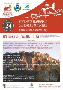 Giornata dei Borghi Autentici - Pietrasecca di Carsoli - L'Aquila - Eventi per famiglie in Abruzzo