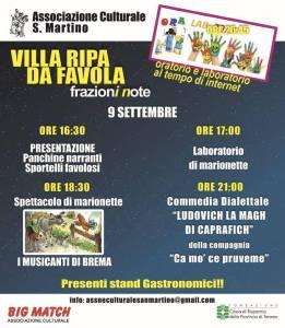 Villa Ripa da Favola - Frazione Villa Ripa - Teramo - Eventi per famiglie in Abruzzo
