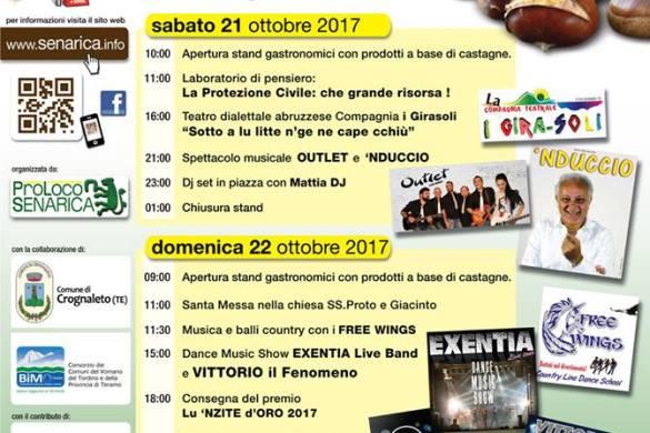 12^ Festa della Castagna - Senarica-Teramo-Feste d'Autunno-in-Abruzzo