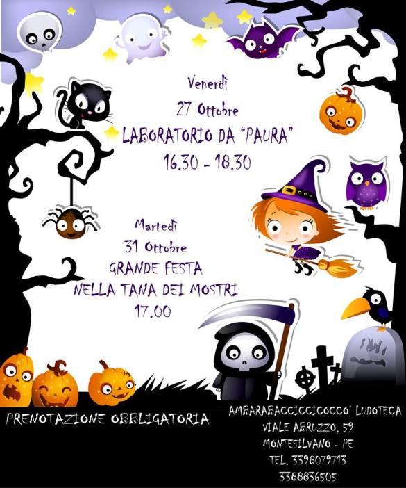 Halloween-Ambarabacicciccò-Montesilvano-Pescara