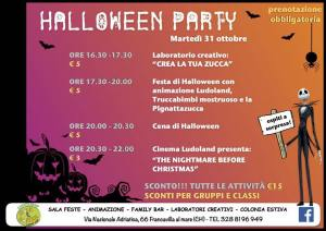 Halloween Party - Ludoland Milk & Coffee - Francavilla al Mare