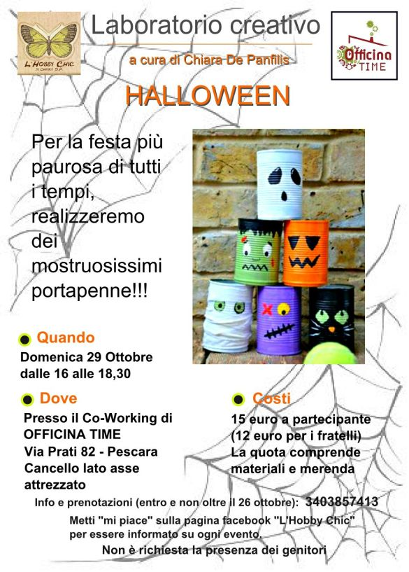 Laboratorio-creativo-Halloween-Officina-Time-Pescara