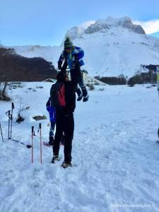 Prati di Tivo - Compagnia delle Guide - Ciaspolata sulla neve