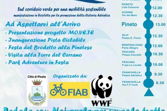 Biciclettata Adriatica - sabato 2 giugno