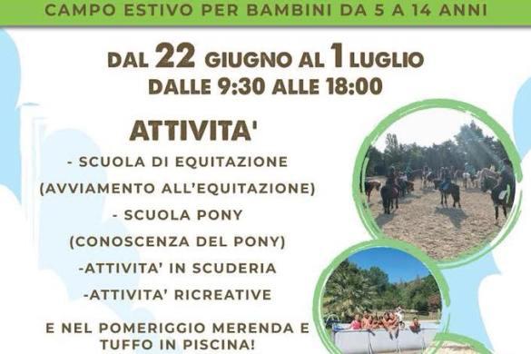 Campo estivo - Rio Tavo - Pescara