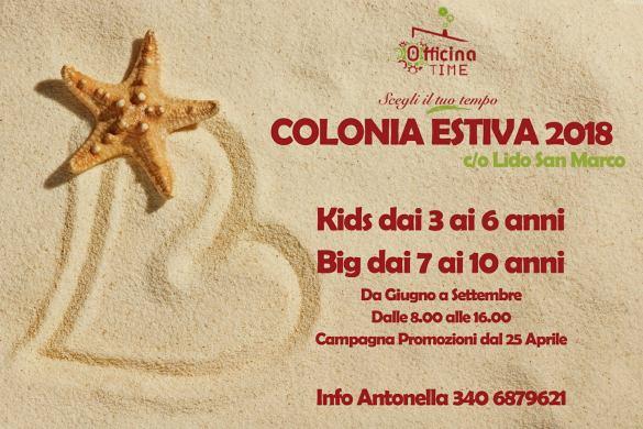 Colonia estiva - Officina Time - Pescara