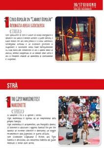 Stra Festival degli Artisti di strada - Collecorvino - Programma artisti