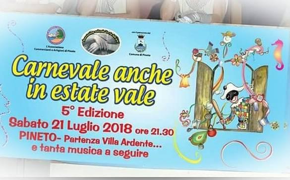 Carnevale Estivo - Pineto - Teramo