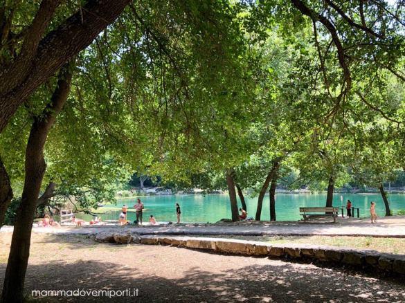 Lago Sinizzo a San Demetrio ne' Vestini a L'Aquila