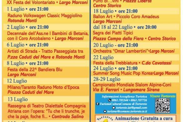 Luglio Estate 2018 - Tortoreto - Teramo