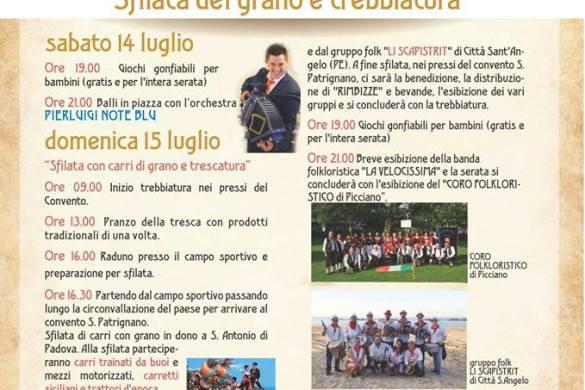 Sfilata del Grano e Trebbiatura - Collecorvino - Pescara