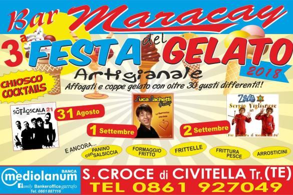 Festa-del-Gelato-Bar-Maracay-Civitella-del-Tronto-TE-Sagre in Abruzzo