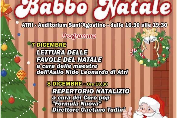 La-Casa-di-Babbo-Natale-Atri-Teramo - Cosa fare a Natale con i bambini in Abruzzo