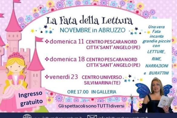 La-Fata-della-Lettura-CC-Pescara-Nord-Città-Sant-Angelo-Pe- Eventi per bambini Pescara