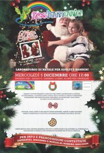 Laboratorio-di-Natale-Fiestamania-Park-Teramo- Cosa fare a Natale con i bambini in Abruzzo