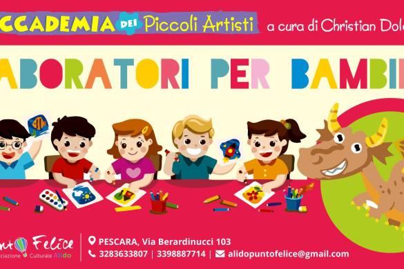 Laboratorio-per-bambini-Alido-Punto-Felice-Pescara- Eventi per bambini Pescara