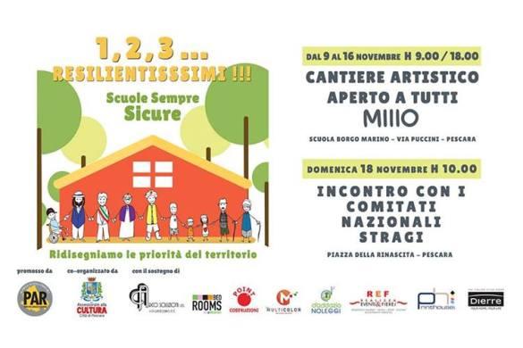 1,2,3...RESILIENTISSSIMI!!! Scuole Sicure Abruzzo - Evento Pescara