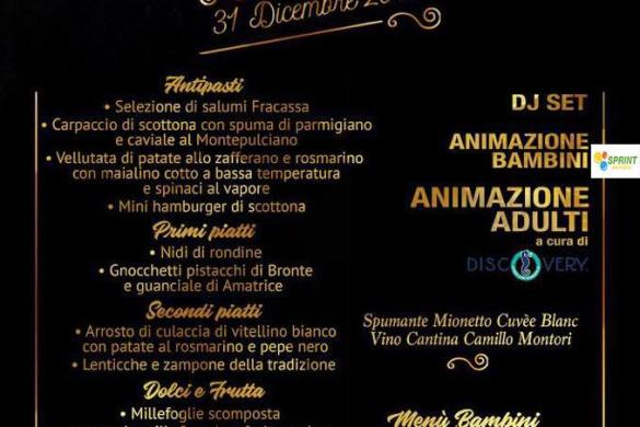 Capodanno-2019-Ristorante-Santa-Croce-Civitella-del-Tronto-Teramo - Capodanno 2019 con i bambini in Abruzzo