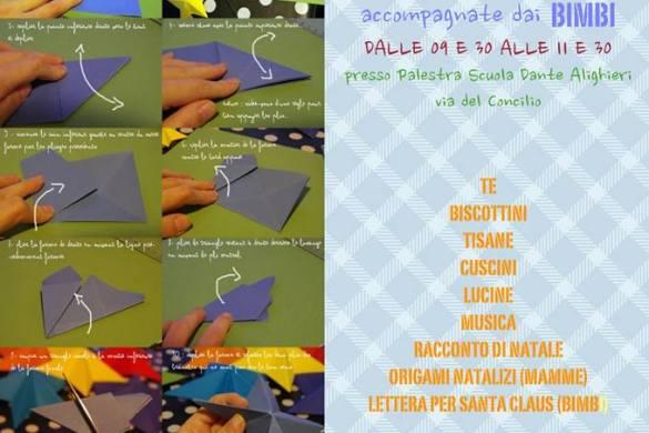 Laboratorio-di-origami-Il-Sentiero-Pescara- Eventi per bambini in Abruzzo weekend 1 - 2 dicembre