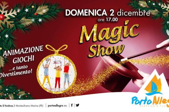 Magic-Show-CC-Porto-Allegro-Montesilvano-Pescara - Eventi per bambini in Abruzzo weekend 1 - 2 dicembre