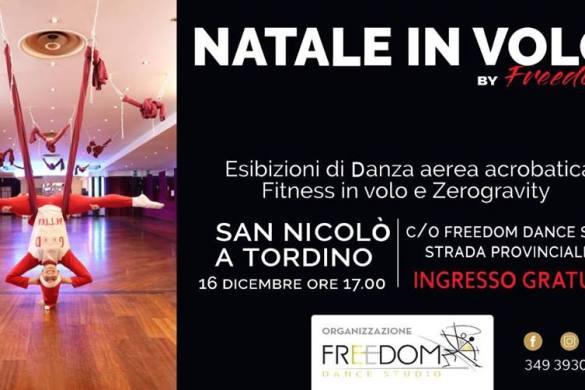 Natale-in-Volo-Freedom-Dance-Studio-Sant-Nicolò-Teramo - Eventi per famiglie con bambini in Abruzzo
