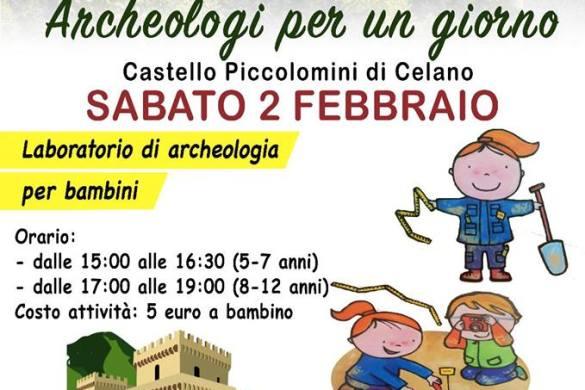 Archeologi-per-un-giorno-Castello-Piccolomini-Celano-L'Aquila