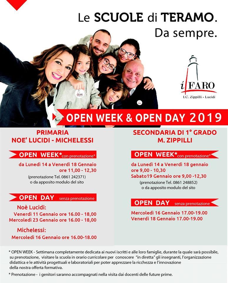 Open Day Scuole Teramo - Istituto Comprensivo Zippilli - Noè Lucidi