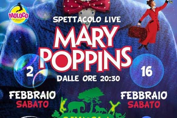 Spettacolo-Live-Mary-Poppins-Giungla-Park-Zoo-dAbruzzo-Rocca-San-Giovanni-Chieti