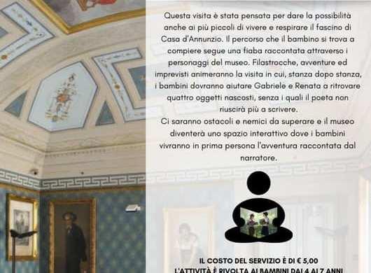 Una-Favola-al-Museo-Dadabruzzo-Museo-Casa-Natale-DAnnunzio-Pescara