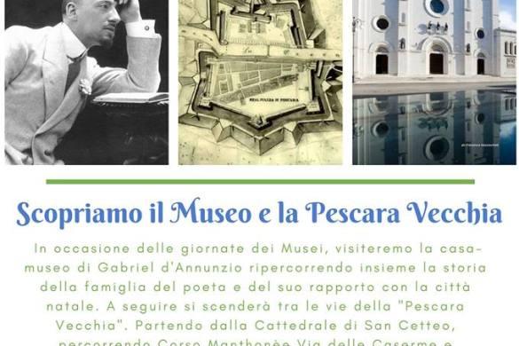 Visita-guidata-e-passeggiata-Museo-Casa-Natale-DAnnunzio-Pescara