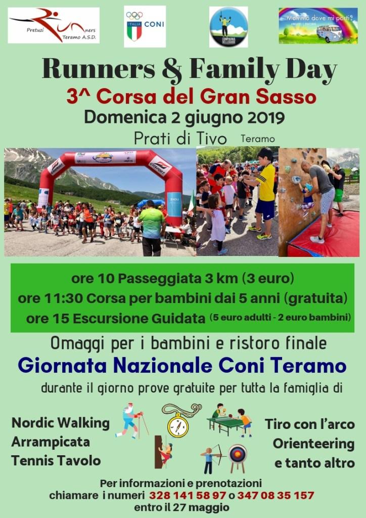 Runners & Family Day a Prati di Tivo in provincia di Teramo