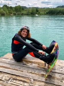 Anna istruttrice Lago Hot Lake Cable Park a Manoppello di Pescara