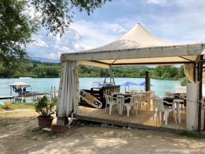 Area Food sul Lago Hot Lake Cable Park a Manoppello di Pescara