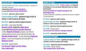 Programma 26/27/28 luglio RipattoniArte 201