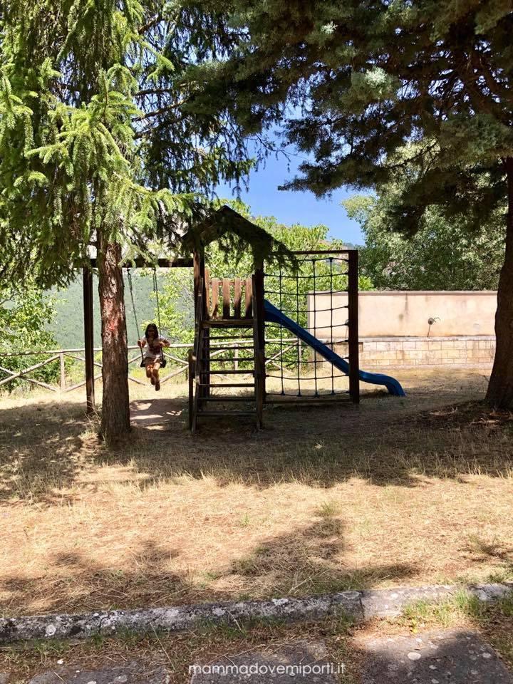 Parco giochi Castelvecchio Calvisio