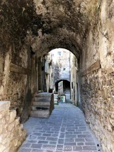 Scorcio di Castelvecchio Calvisio